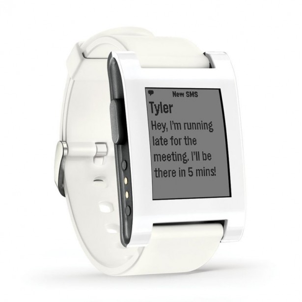 pebble smart watch iWatch alternative