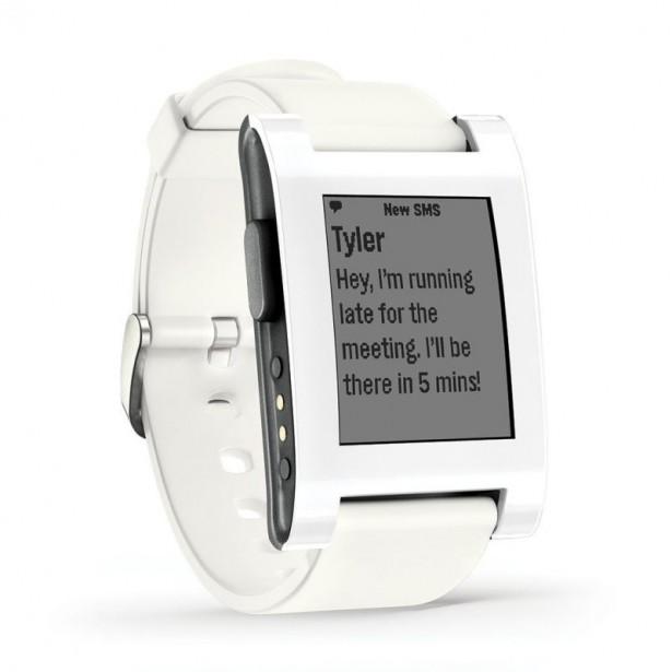 pebble smart watch iWatch alternative