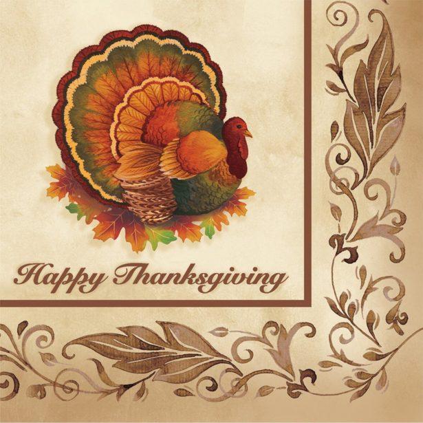 05 thanksgiving napkins set