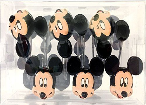 Mickey Mouse Shower Curtain Hooks
