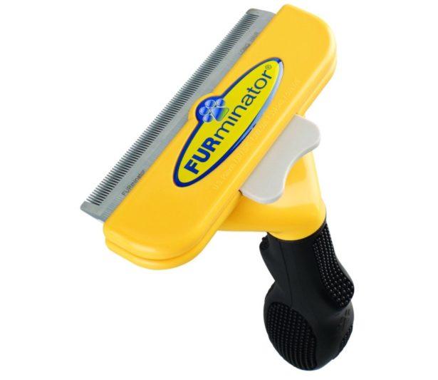 01 FURminator deShedding Tool for Dogs