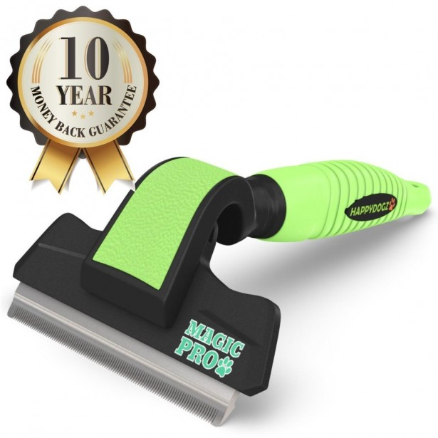 03 magic pro dog deshedding tool