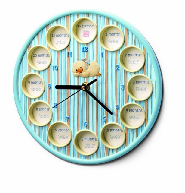 10 diddy duck photo clock