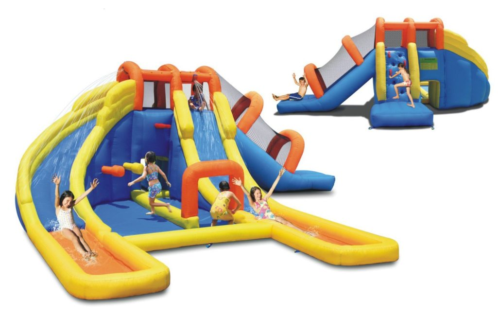 Best Inflatable Water Slides for Kids Ages 3 to 4