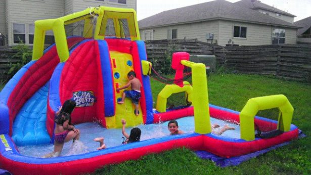 03 best inflatable water slides for kids