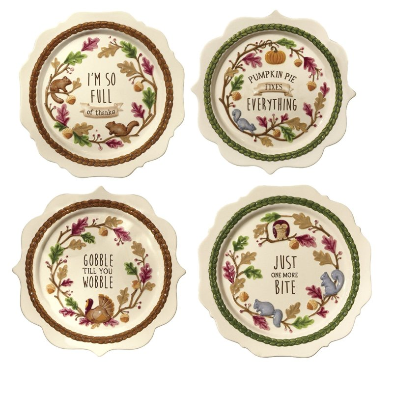 10 Best Thanksgiving Plates for a Really Special Day  sc 1 st  Ranking Squad & 10 Best Thanksgiving Plates for a Really Special Day | Ranking Squad