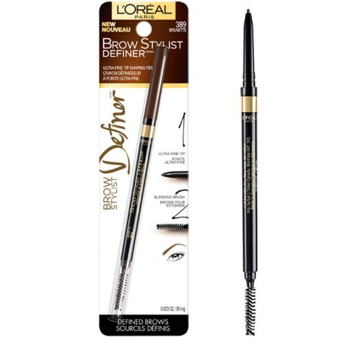 loreal waterproof eyebrow pencil
