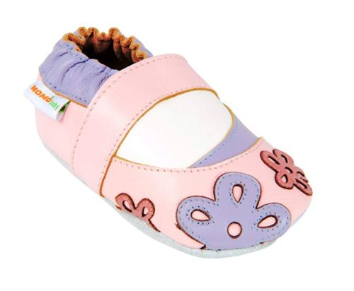momo baby soft leather walking shoes