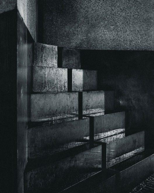 wet basement stairs